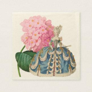 Guardanapo cor-de-rosa de Marie Antoinette Ecru do