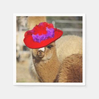 Guardanapo da alpaca