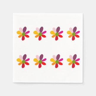 Guardanapo da flor