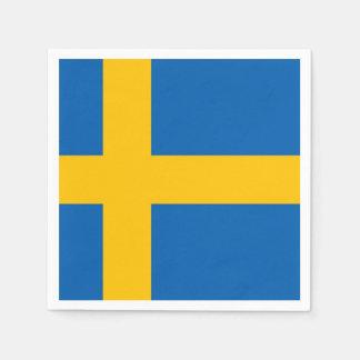 Guardanapo De Papel Bandeira sueco