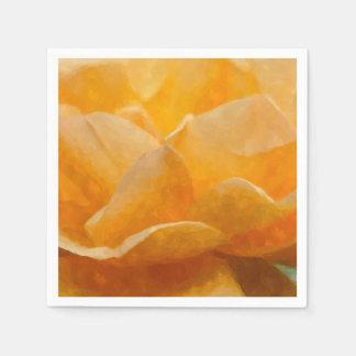 Guardanapo De Papel Beleza de um rosa Painterly