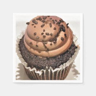 Guardanapo De Papel Cupcake do chocolate