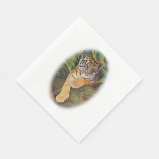 Guardanapo de papel de Cub de tigre
