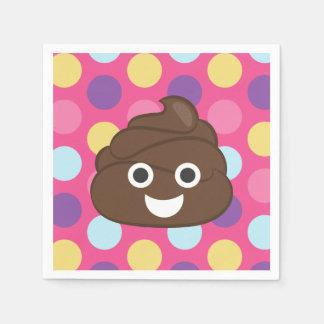 Guardanapo de papel de Emoji do tombadilho das