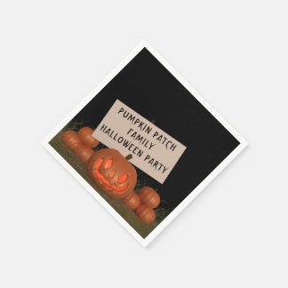 Guardanapo de papel do partido do Dia das Bruxas