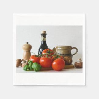 Guardanapo De Papel Do tomate vida ainda
