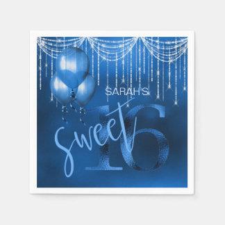 Guardanapo De Papel Doce 16 DK ID473 azul das luzes & dos balões da