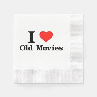 Guardanapo De Papel Eu amo filmes velhos