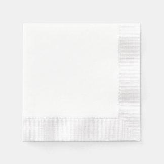 Guardanapo de papel feito sob encomenda - branco i