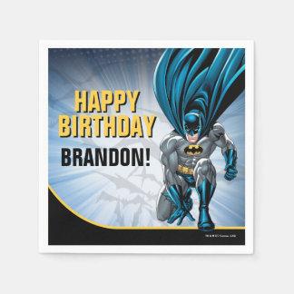 Guardanapo De Papel Feliz aniversario de Batman  