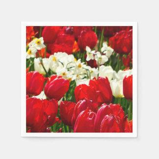 Guardanapo De Papel Flores de Canberra