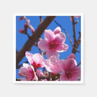 Guardanapo De Papel Flores do primavera