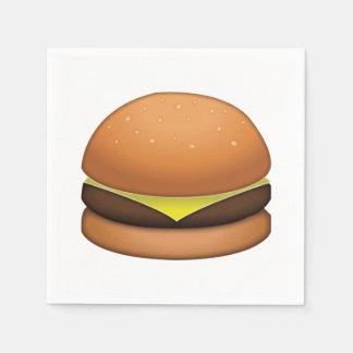 Guardanapo De Papel Hamburguer do queijo - Emoji