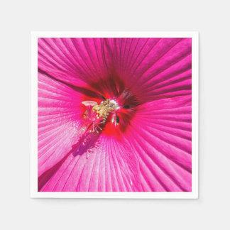 Guardanapo De Papel Hibiscus cor-de-rosa