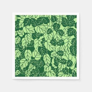 Guardanapo De Papel Impressão, esmeralda e verde limão japoneses da