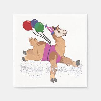Guardanapo De Papel Lama do feliz aniversario!