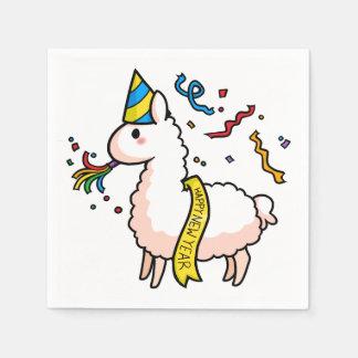 Guardanapo De Papel Lama do feliz ano novo