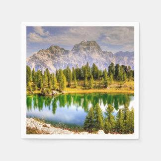 Guardanapo De Papel Montanhas Italia da dolomite