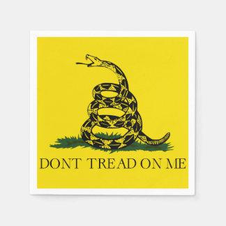 Guardanapo De Papel Não pise em mim a bandeira americana de Gadsden