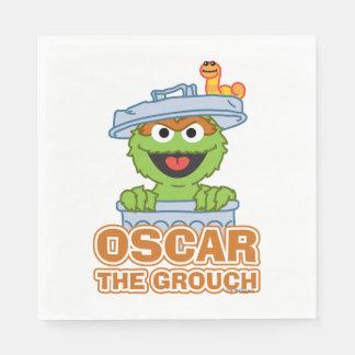 Guardanapo De Papel Oscar o estilo do clássico do Grouch