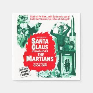 Guardanapo De Papel Papai Noel conquista os Marciano