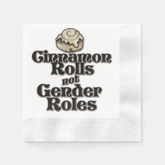 Guardanapo De Papel Papéis do género de Rolls da canela não