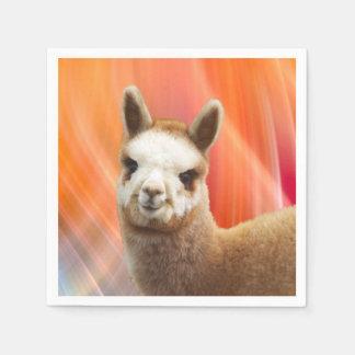 Guardanapo De Papel Partido da alpaca