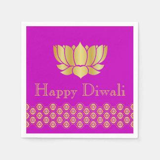 Guardanapo De Papel Partido indiano de Diwali do design do teste