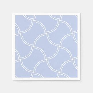 Guardanapo De Papel Passeio azul de Alice mini no jardim inglês do