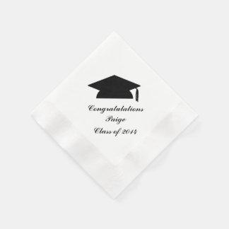 Guardanapo de papel personalizados da graduação