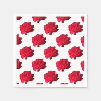 Guardanapo De Papel rosas no jardim