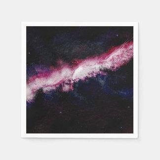 Guardanapo De Papel Universo da galáxia do hipster