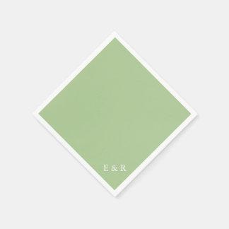 Guardanapo De Papel Verde de Nile - tendências 2018 da forma de