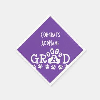 Guardanapo personalizados da graduação - 2014 pata guardanapo de papel