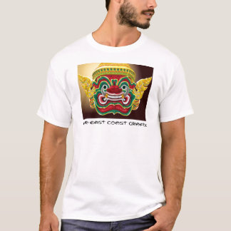 Guardião tailandês do templo dos iaques camiseta