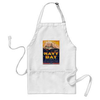 Guerra mundial 2 do dia do marinho avental