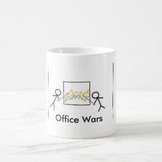 Guerras do escritório caneca de café