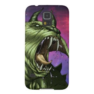 Guerreiro estrangeiro do monstro do cão pelo Al Capinha Galaxy S5