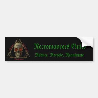 Guilda dos Necromancers Adesivo Para Carro