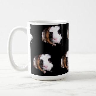 Guinea_Pig_Pattern_Big_White_Coffee_Mug Caneca De Café
