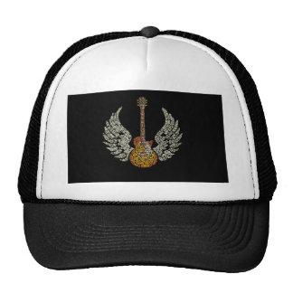 Guitarra com asas boné