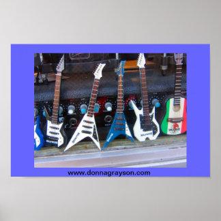Guitarra de Hollywood Poster