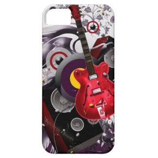 guitarra e auto-falante do cobrir do iPhone Capas iPhone 5 Case-Mate