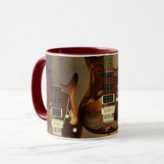 Guitarra ideal - canecas de café da benevolência