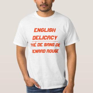 Guloseima inglesa t-shirts