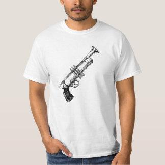 gunAndTrumpet Camiseta