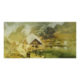Gurudwara Hemkunt Sahib por Shekhar Joshi Cartão Com Foto