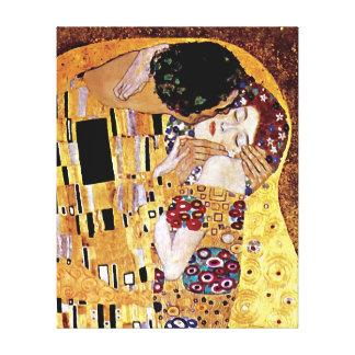 Gustavo Klimt - o beijo - arte Nouveau do vintage