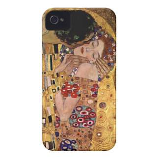 Gustavo Klimt: O beijo (detalhe) Capa iPhone 4 Case-Mate