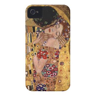 Gustavo Klimt: O beijo (detalhe) Capinha iPhone 4